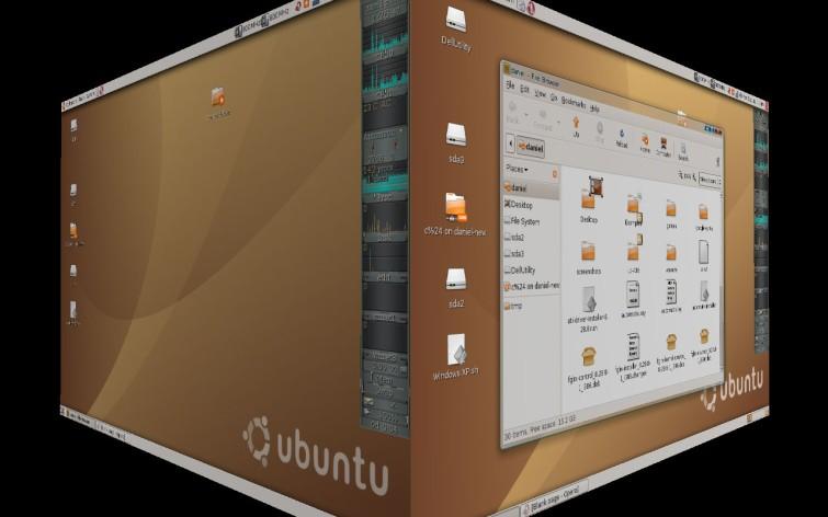 Ubuntu with Compiz Fusion